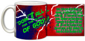 """Doing It All"""" Graphic Mug Red"""