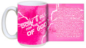 """Doing It All"" Graphic Mug Pink"