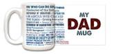 """My Dad Mug"" Quote Mug"