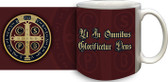 Benedictine Medal (Latin) Coffee Mug
