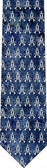 Marian Symbol Pattern Tie