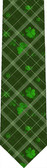 Shamrock Plaid Tie