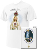 100 Year Anniversary Fatima Commemorative Logo T-Shirt