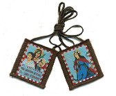 Saint Philomena Brown Scapular