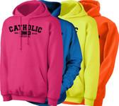Catholic Original Neon Hoodie