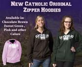 Catholic Original Zipper Hoodie