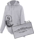 Our Lady of Czestochowa Zipper Hoodie