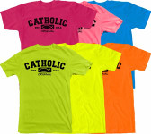 Catholic Original Neon T-Shirts