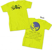 """Irony"" Green T-Shirt"