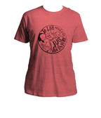 Awfully Big Adventure Heather Red T-Shirt