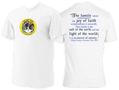 Love Is Our Mission Commemorative T-shirt