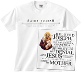 St. Joseph (Younger) Full Color T-Shirt