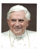 Pope Benedict Self Portrait Print