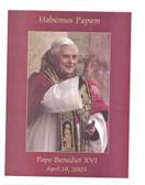 Pope Benedict XVI Habemus Papam Print