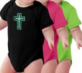 Cross Baby Onesie