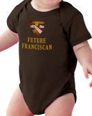 Future Franciscan Baby Onesie