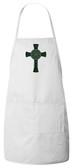 Celtic Cross Apron (White)