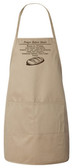 Prayer Before Meals Apron (Natural)