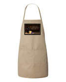 Improve With Wine Apron (Natural)