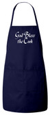 God Bless the Cook Apron (Navy)