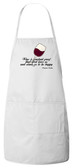 Wine is Proof Apron (White)
