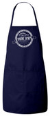Fish Fry Apron (Navy) Personalized