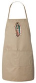 Ancient Carmelite Crest Apron (Natural)