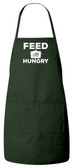 Feed the Hungry Apron (Green)