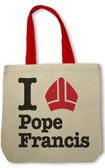 I Heart Pope Francis Totebag