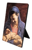 Madonna And Child Desk Plaque