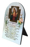 House Blessing Arched Desk Plaque