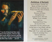 Anima Christi Prayer Card
