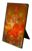 Christ in Majesty Vertical Desk Plaque