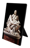 Pieta by Michaelangelo Vertical Desk Plaque