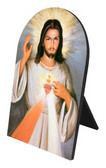 Divine Mercy Detail Arched Desk Plaque