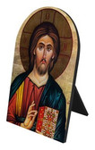Christ the Teacher Arched Desk Plaque