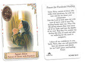 Prayer to Saint Alice For Those With Paralysis