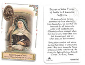 Prayer to Saint Teresa Of Avila For Those Suffering Headaches