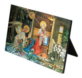 Annunciation of St. Gabriel Horizontal Desk Plaque