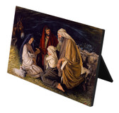 Adoration of the Shepherds (Jenicke) Horizontal Desk Plaque