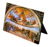Disputation of the Holy Eucharist Horizontal Desk Plaque