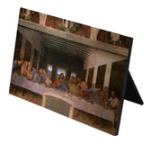 Last Supper by Da Vinci Horizontal Desk Plaque
