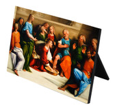 Christ Washing the Feet of His Apostles Horizontal Desk Plaque