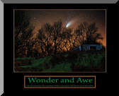 Wonder and Awe Wall Plaque