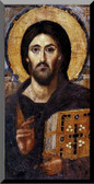 Christ Pantocrator Icon Wall Plaque