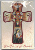 The Cross Of St. Benedict Wood Pendant