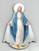 Virgin Mary Wood Magnet