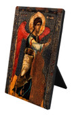 Annunciation Icon (St. Gabriel) Vertical Desk Plaque