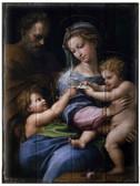 Madonna della Rosa Rustic Wood Plaque
