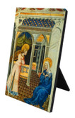 Annunciation by Giovanni di Paolo Vertical Desk Plaque